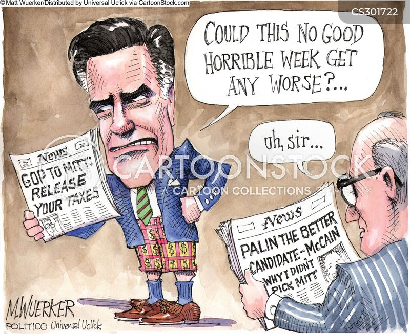 campaign issue cartoon