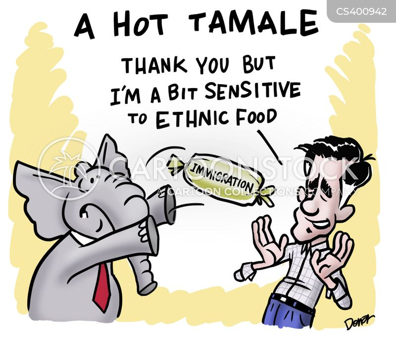 ethnic minority cartoon