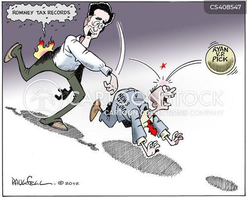 running mates cartoon