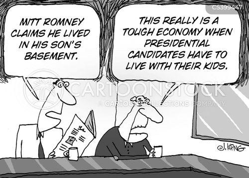 republican candidates cartoon