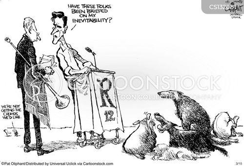election 2012 cartoon