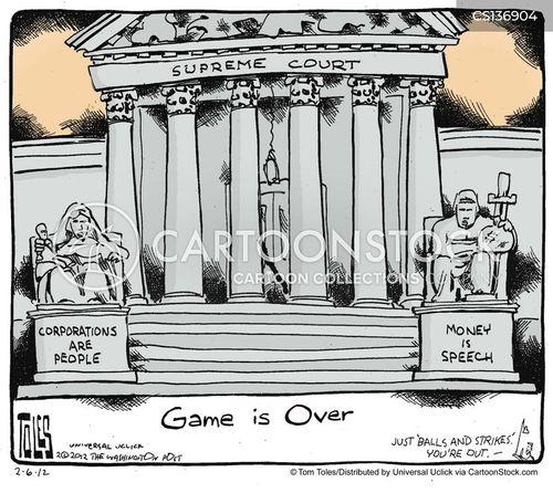 corporations are people cartoon