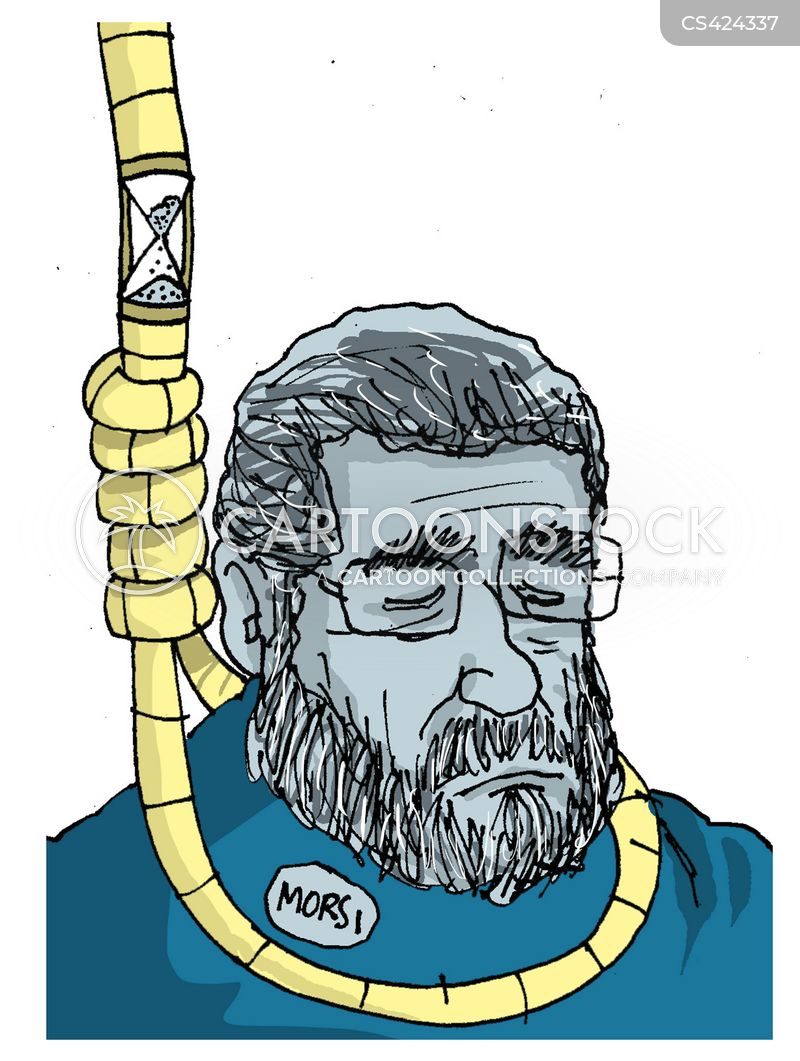 mohamed morsi cartoon