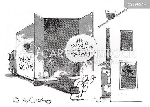 need money cartoon