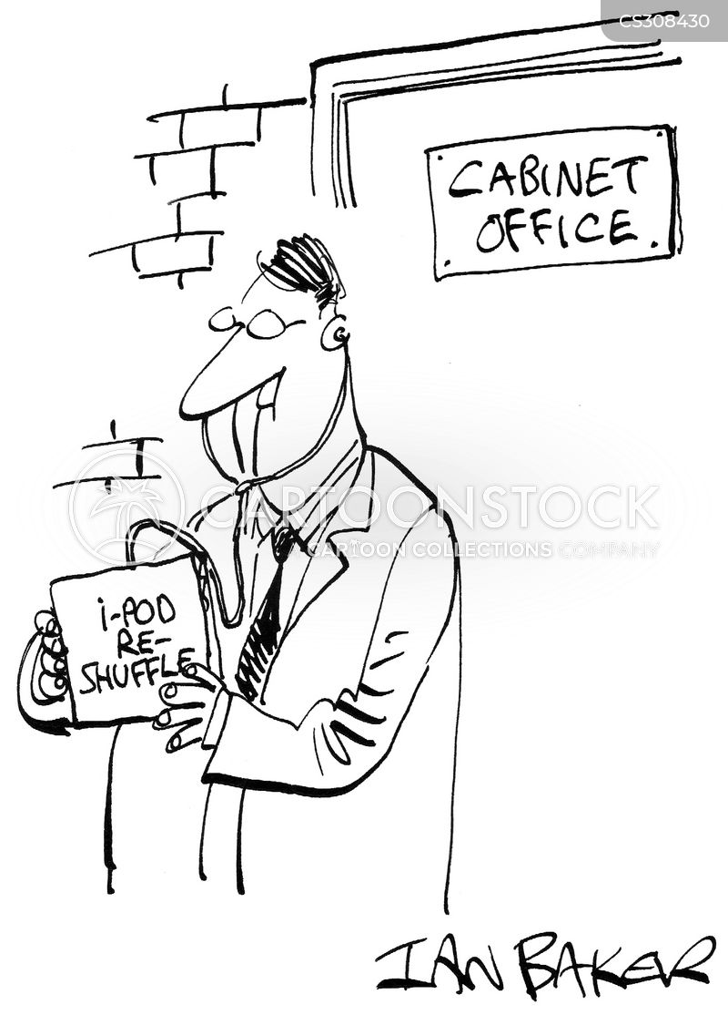 political cabinet cartoon