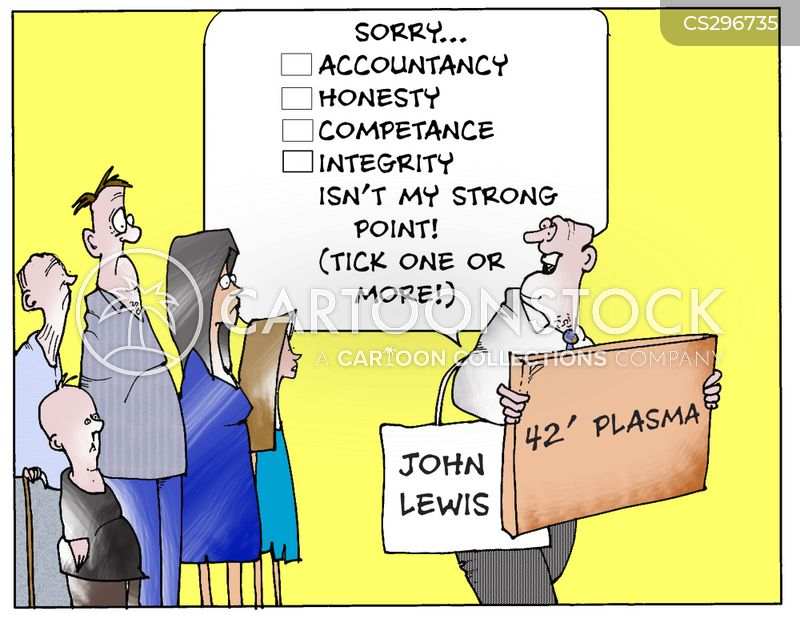 strong points cartoon