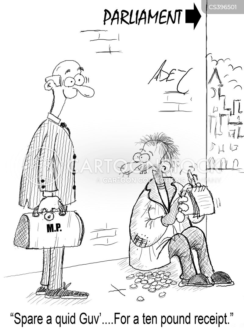 expenses scandals cartoon