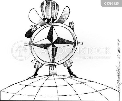 helmsman cartoon