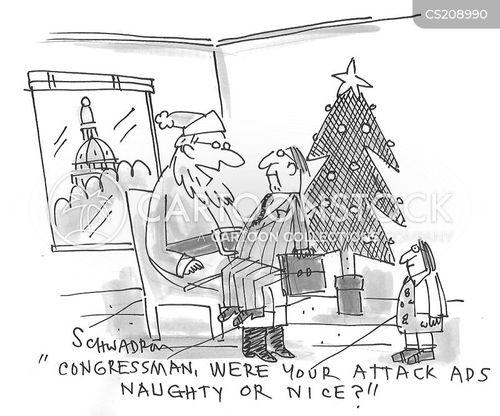 attack ad cartoon