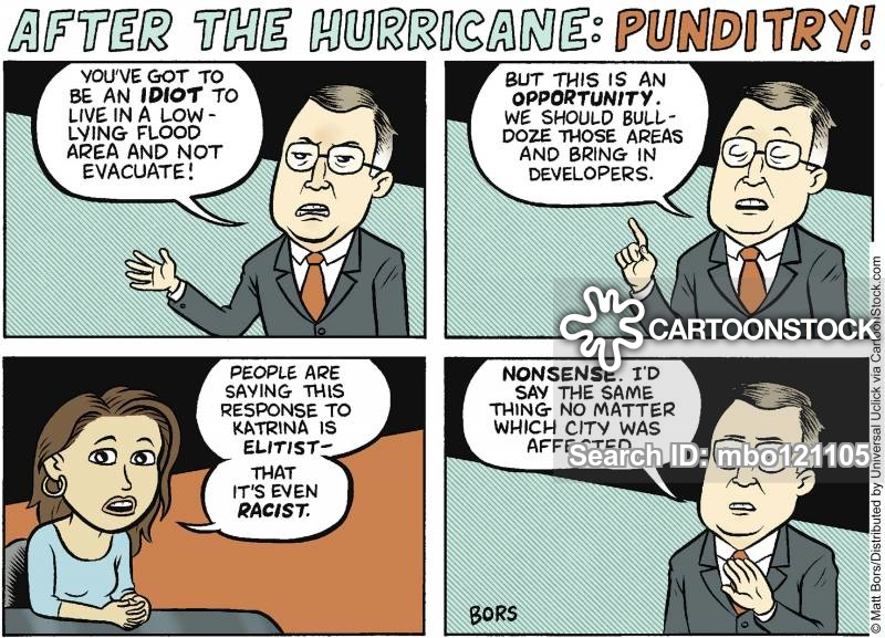 punditry cartoon