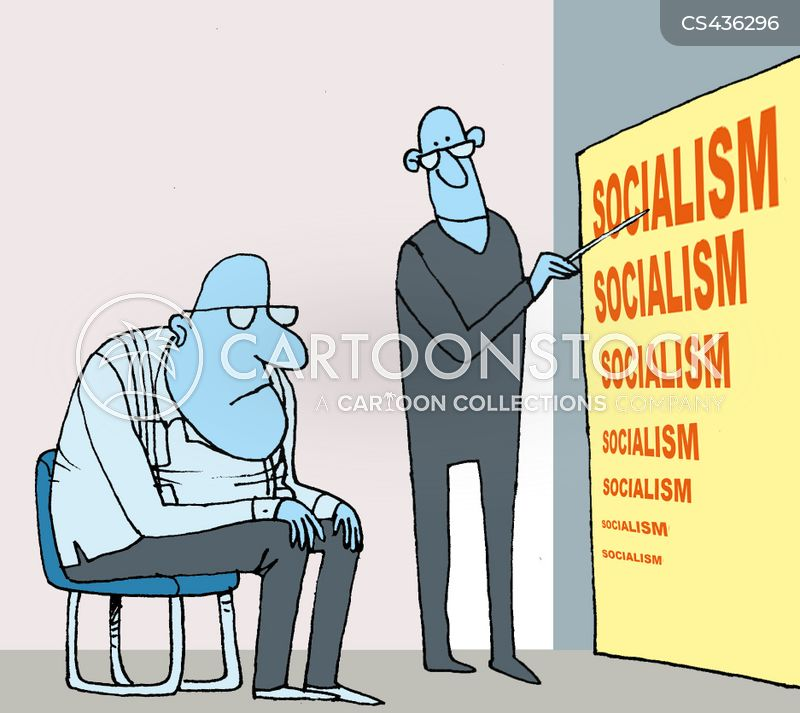 political ideology cartoon