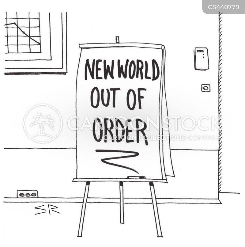 political dissatisfaction cartoon