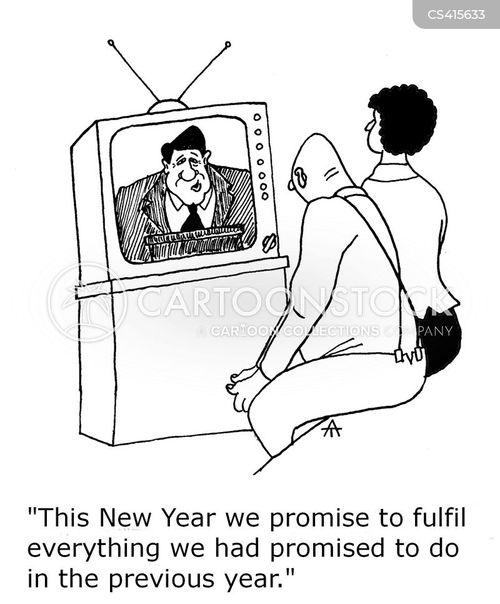 political promise cartoon
