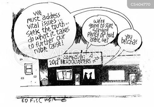 mud-slingers cartoon