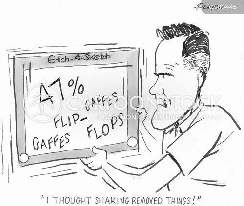 flip flops cartoon