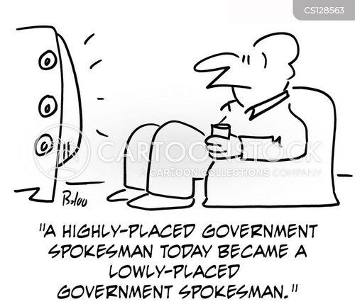 spokesmen cartoon