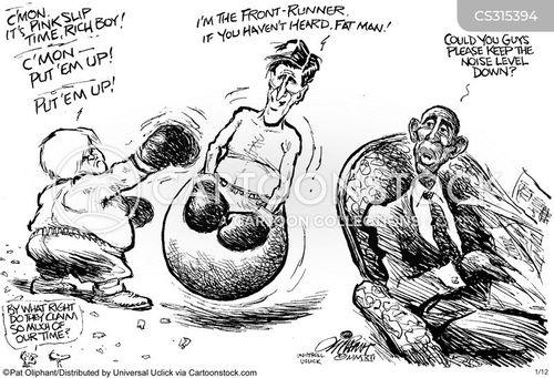 ron paul cartoon