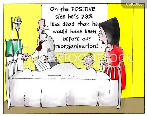reorganisations cartoon