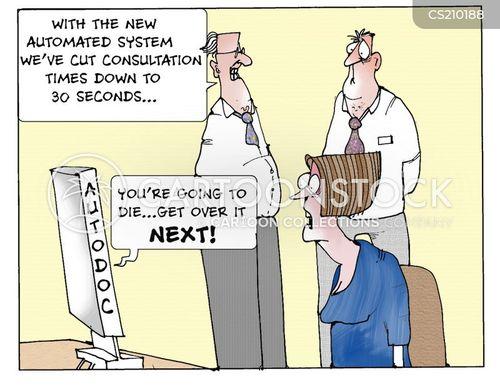 consultation time cartoon