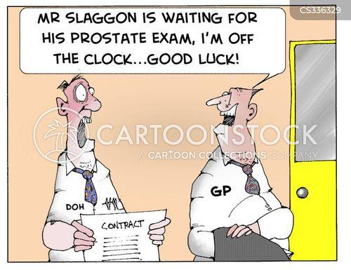 clocking off cartoon