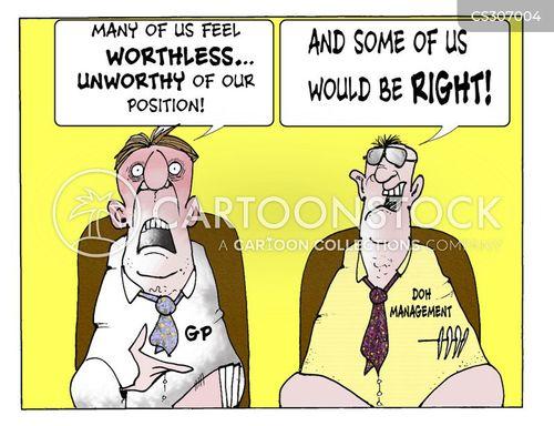 nhs management cartoon