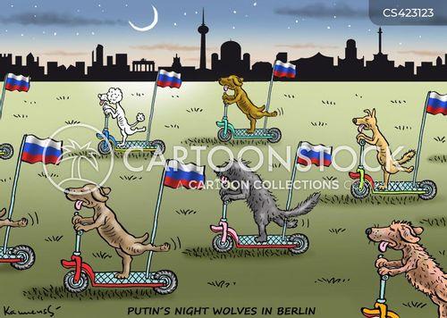 berlin cartoon