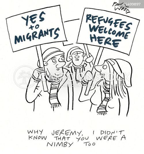 nimby cartoon
