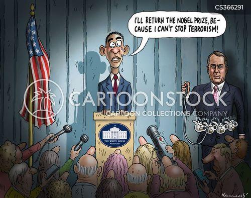 nobel peace prize cartoon