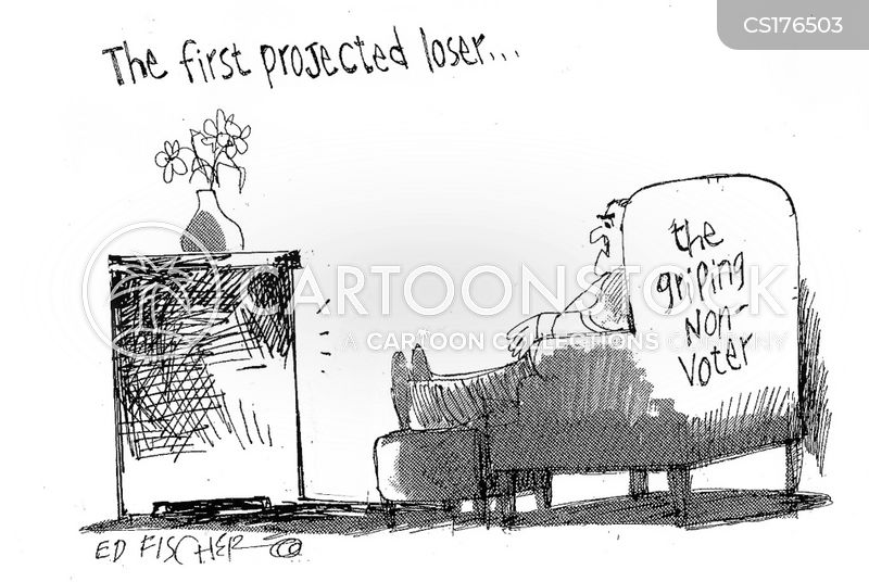 election results cartoon