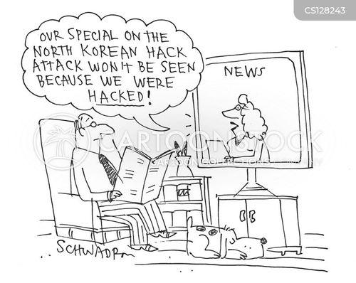 north koreans cartoon