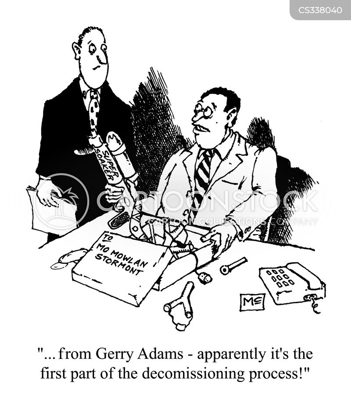 decommissioning cartoon
