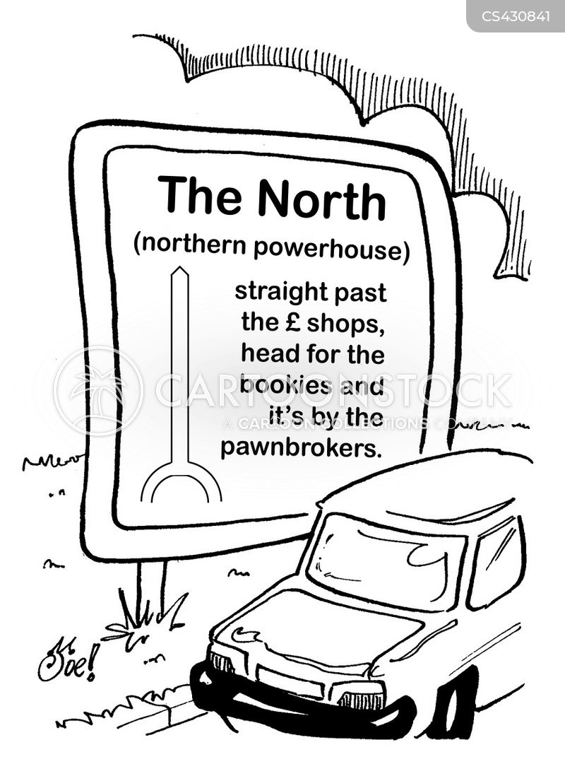 northerners cartoon