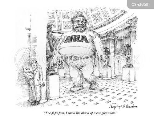 gun lobbies cartoon