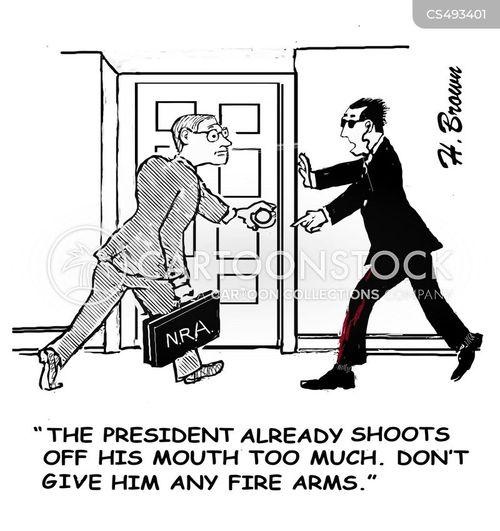 n.r.a. cartoon