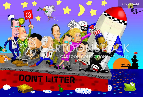 nuclear attacks cartoon