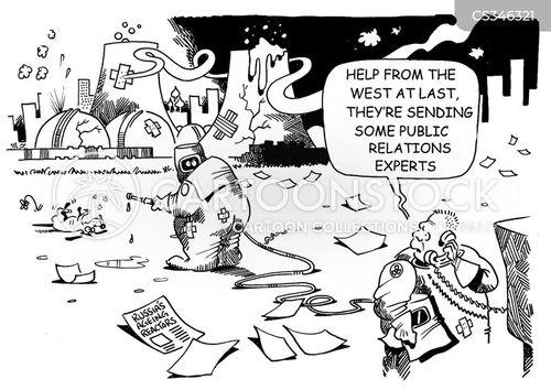 public relations experts cartoon
