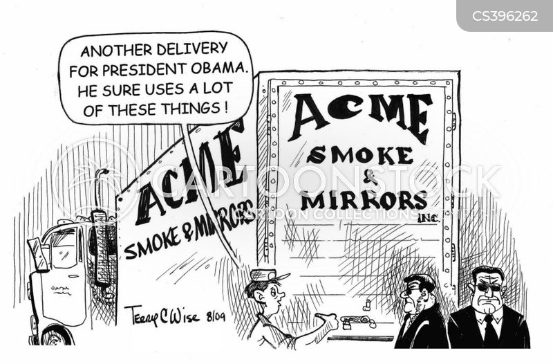smoke and mirrors cartoon