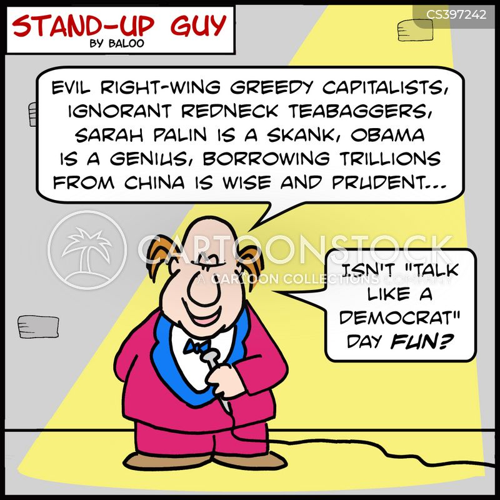 democrat parties cartoon