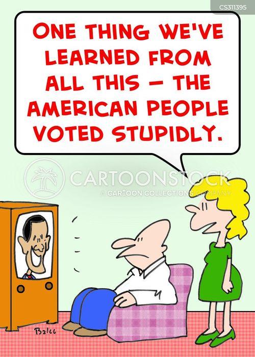 stupidly cartoon