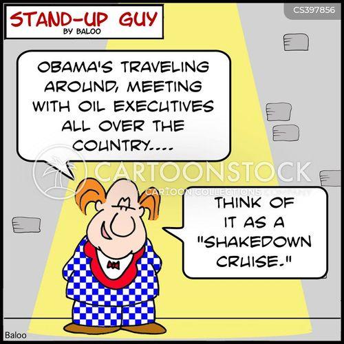 shakedown cartoon