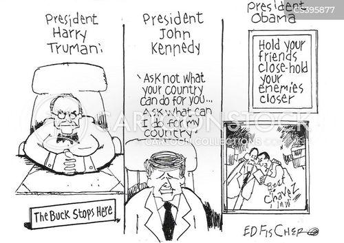 harry truman cartoon