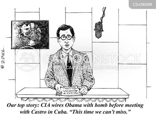 kennedy assassination cartoon