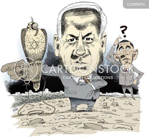 netanyahu cartoon