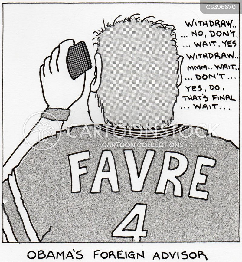 brett favre cartoon