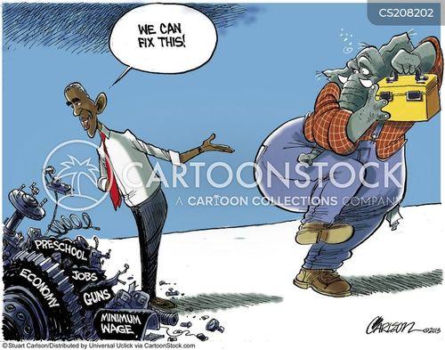 quick fixes cartoon