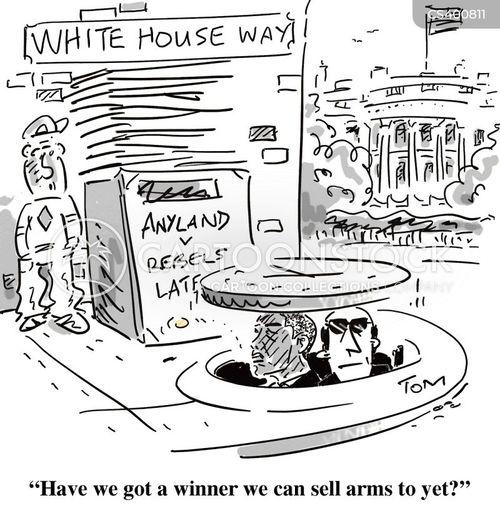 armaments cartoon