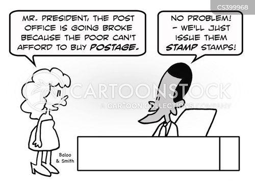 usps cartoon
