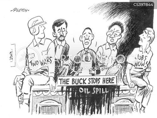 oilspills cartoon