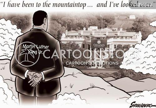 martin luther king jr cartoon