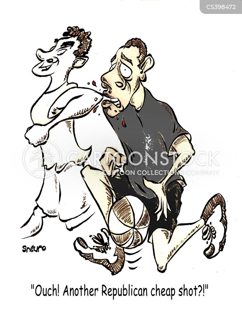 basketball injury cartoon